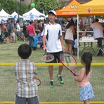 USTA at YMCA Kids Fest at Bishop Museum