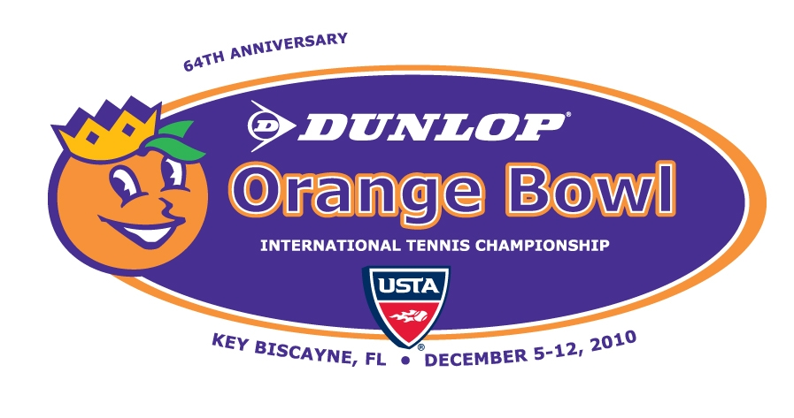 dunlop orange bowl logo 2010