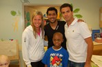 Cincinnati Childern's Hospital Player Visit