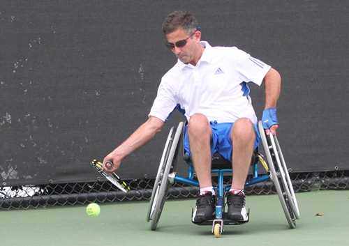 Run n Roll Wheelchair Tennis Clinic & Exhibition