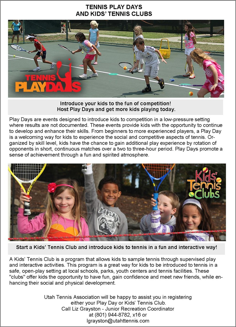 Rev 3 Play Day and Kids Clubs