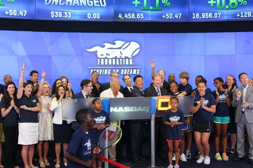 USTA Foundation at NASDAQ
