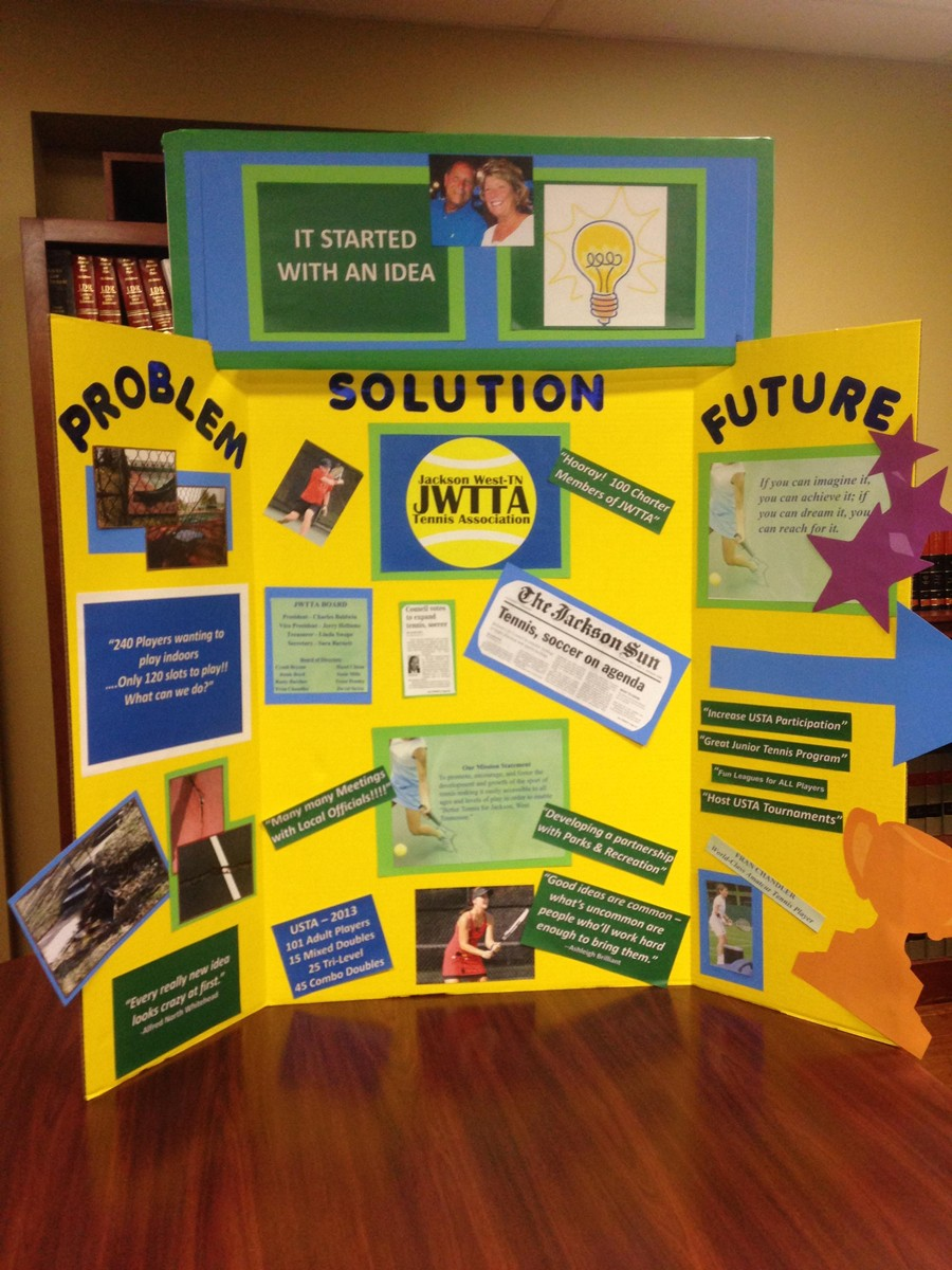 pictures of cool poster board designs